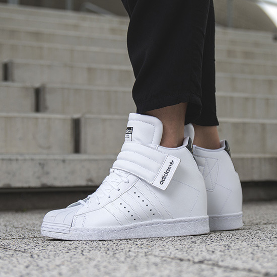Cheap Adidas Superstar 80s (Black, White & Chalk) END.