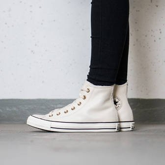 Buty damskie sneakersy Converse Chuck Taylor All Star Winter Knit + Fur Hi 553367C