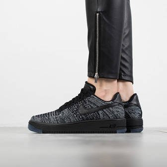 Buty damskie sneakersy Nike Air Force 1 Flyknit Low 820256 007
