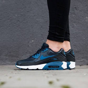 Buty damskie sneakersy Nike Air Max 90 Leather (GS) 833412 402