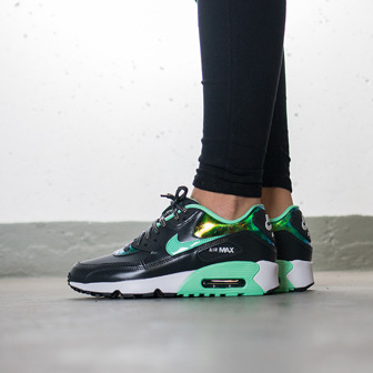 Buty damskie sneakersy Nike Air Max 90 SE Leather (GS) 859633 001