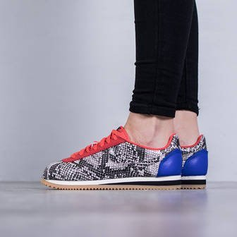 "Buty damskie sneakersy Nike Classic Cortez Leather Premium ""Python Pack"" 833657 100"
