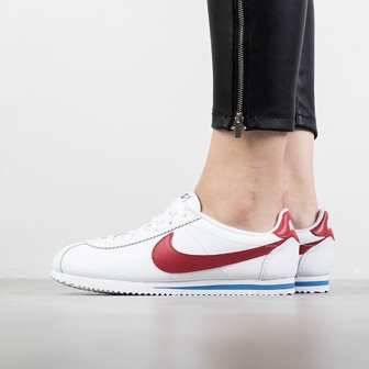 "Buty damskie sneakersy Nike Classic Cortez Leather Se ""Forrest Gump"" 921777 100"