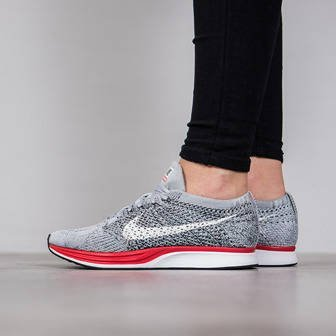 "Buty damskie sneakersy Nike Flyknit Racer ""Little Red"" 526628 013"