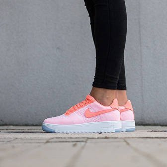 Buty damskie sneakersy Nike W Air Force 1 Flyknit Low 820256 600