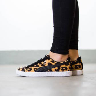 "Buty damskie sneakersy Puma Clyde ""Suits Pack"" Leopard 363426 02"