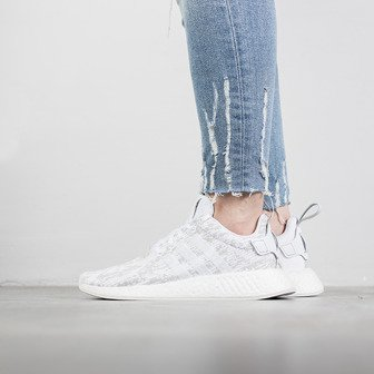 "Buty damskie sneakersy adidas Originals NMD_R2 ""Footwear White"" BY8691"