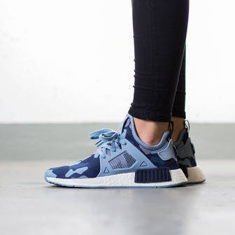 "Buty damskie sneakersy adidas Originals NMD_XR1 ""Duck Camo Pack"" Midnight Grey BA7754"