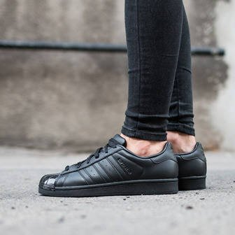 Buty damskie sneakersy adidas Originals Superstar Glossy Toe BB0684