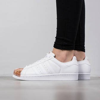 Buty damskie sneakersy adidas Originals Superstar Metal Toe BY2882