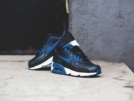 Buty dziecięce sneakersy Nike Air Max 90 Leather (PS) 833414 402