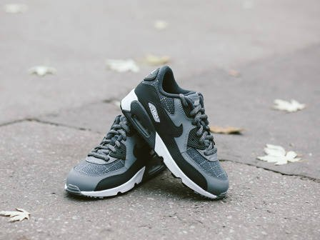 Buty dziecięce sneakersy Nike Air Max 90 Se Leather (PS) 859630 001