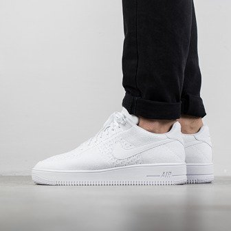 Buty męskie sneakersy Nike Air Force 1 Ultra Flyknit Low 817419 101