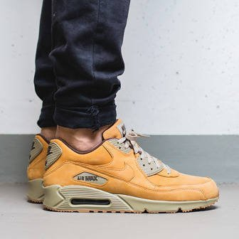 "Buty męskie sneakersy Nike Air Max 90 Winter Premium ""Wheat Pack"" 683282 700"