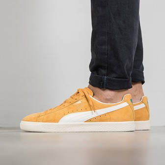 "Buty męskie sneakersy Puma Clyde ""Premium Core"" Pack ""Artisan's Gold"" 362632 03"