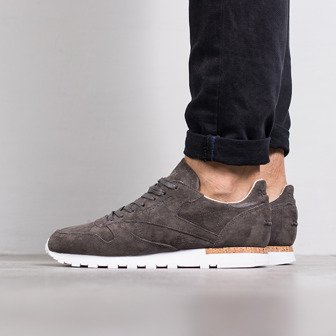 "Buty męskie sneakersy Reebok Classic Leather LST ""Neutrals Pack"" Urban Grey BD1903"