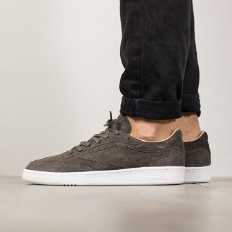 "Buty męskie sneakersy Reebok Club C 85 LST""Neutrals Pack"" Urban Grey BD1899"