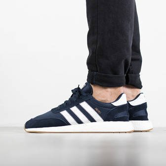 "Buty męskie sneakersy adidas Originals Iniki Runner ""Collegiate Navy"" BY9729"