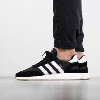 "Buty męskie sneakersy adidas Originals Iniki Runner ""Core Black"" BY9727"