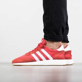 "Buty męskie sneakersy adidas Originals Iniki Runner ""Red"" BY9728"