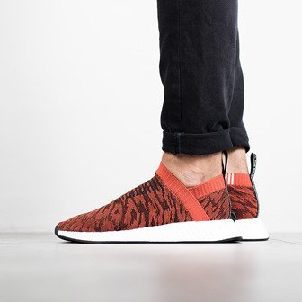 "Buty męskie sneakersy adidas Originals NMD_CS2 Primeknit ""Red Glitch"" BY9406"