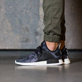"Buty męskie sneakersy adidas Originals NMD_XR1 ""Duck Camo Pack"" Core Black BA7231"