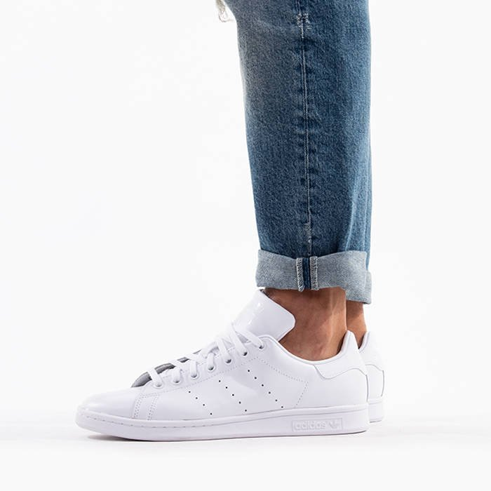 ADIDAS STAN SMITH S75104 LADIES SIZE US6 WOMEN TRIPLE WHITE
