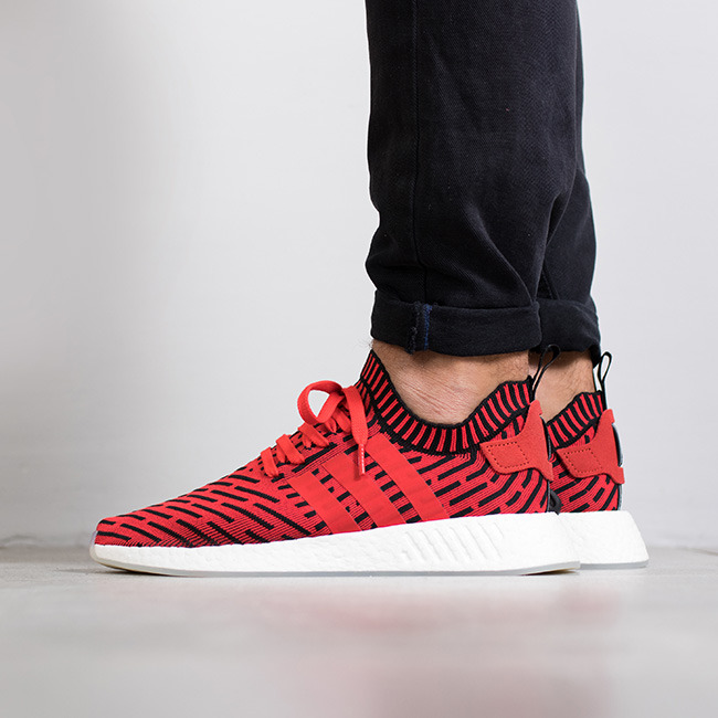 f313e110d Outfit Nmd R2 · Buty mu0119skie sneakersy adidas Originals NMD R2 Primeknit  u0026quot Solar Redu0026quot  BB2910 - promocyjna cena