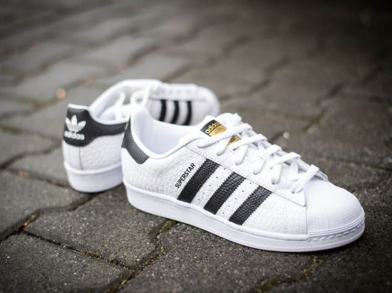 Buty damskie sneakersy Adidas Originals Superstar Animal S75157