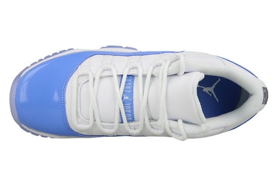 "Buty damskie sneakersy Air Jordan 11 Retro Low UNC (BG) ""University Blue"" 528896 106"