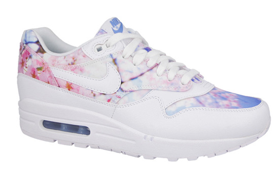 Buty damskie sneakersy Nike Air Max 1 Print Cherry Blossom Pack 528898 102