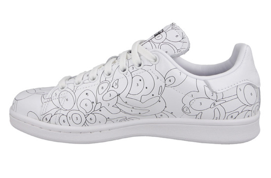 "Buty damskie sneakersy adidas Originals Stan Smith Rita Ora ""Color Paint"" Pack S80292"