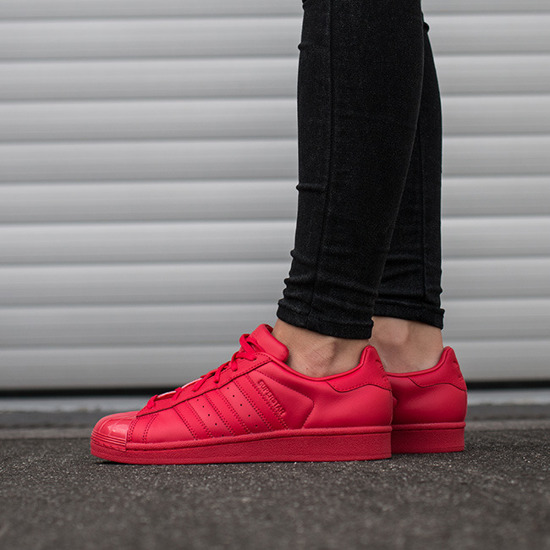 Buty damskie sneakersy adidas Originals Superstar Glossy Toe S76724