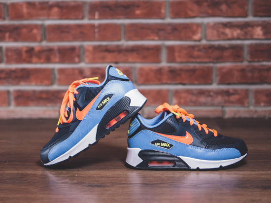 Buty dziecięce sneakersy Nike Air Max 90 Mesh (PS) 724856 408