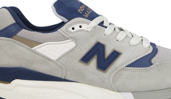 "Buty męskie sneakersy New Balance Made in USA ""Explore by Sea"" M998CSEF"