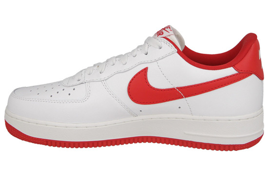 "Buty męskie sneakersy Nike Air Force 1 Low Retro ""University Red"" 845053 100"