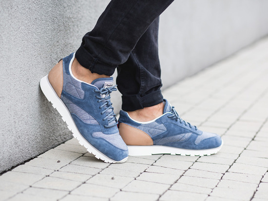 "Buty męskie sneakersy Reebok Classic Leather ""Flecked Pack"" AQ9722"