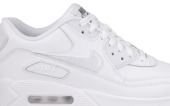 BUTY DAMSKIE SNEAKERSY NIKE AIR MAX 90 LEATHER (GS) 724821 100