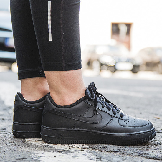 half off a2d04 60817 Buty Nike Air Force damskie - Nike Air Force 1 (GS) 314192 009 - promocyjna  cena - sklep   Sneaker Studio