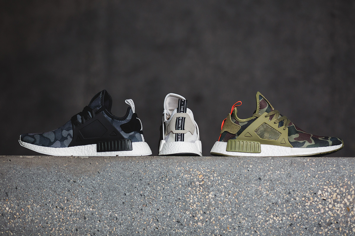"Premiera adidas NMD_XR1 ""Duck Camo"" Pack"