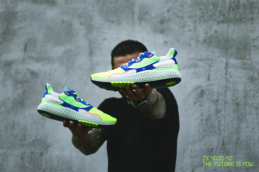 Future is now - adidas ZX 4000 4D