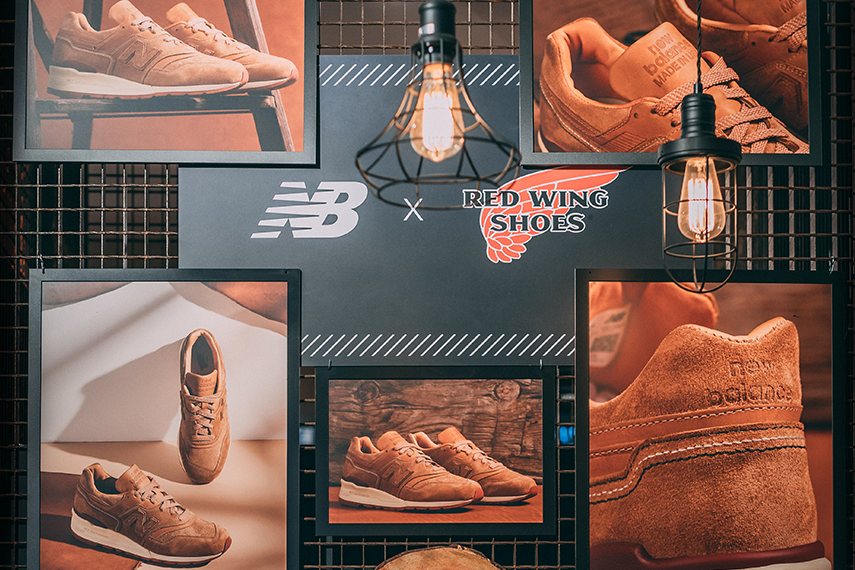 Red Wing x New Balance 997 Made in USA