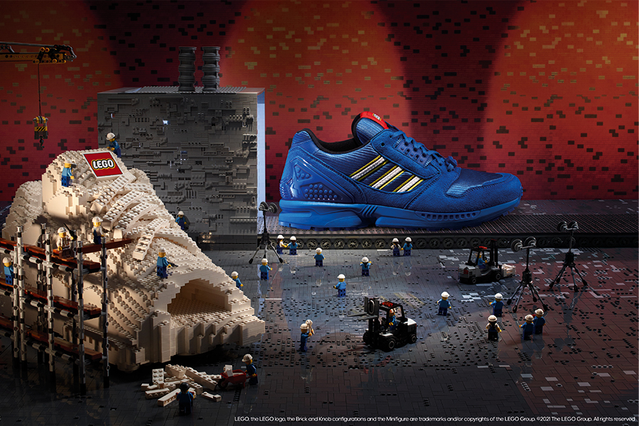 LEGO x adidas ZX 8000 Color Pack
