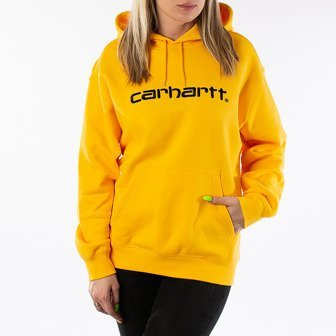 Bluza damska Carhartt WIP W' Hooded Sweatshirt I027476 SUNFLOWER/BLACK