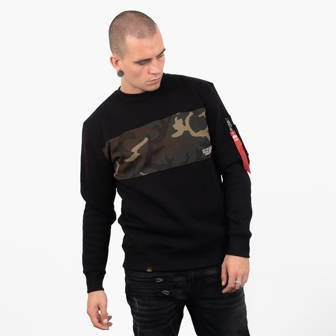 Bluza męska Alpha Industries Camo Bar Sweater 188303 03