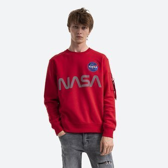 Bluza męska Alpha Industries NASA Reflective Sweater 178309 328