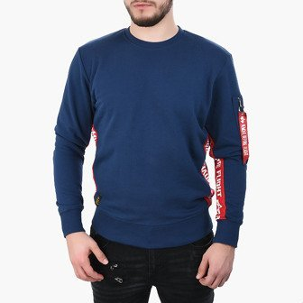 Bluza męska Alpha Industries RBF Inlay Sweater 196303 435