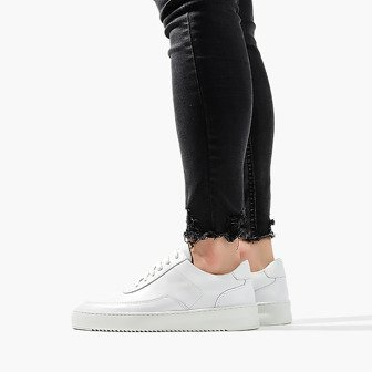Buty damskie sneakersy Filling Pieces Low Mondo Ripple Nardo Nappa White 24526231901PFH