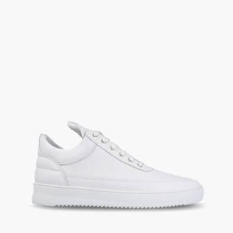 Buty damskie sneakersy Filling Pieces Low Top Ripple Lane Nappa All White 25121721855PFH