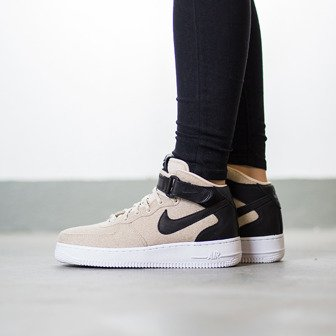 Buty damskie sneakersy Nike Air Force 1 '07 Mid Leather Premium 857666 001